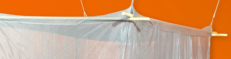 Baldachin Elektrosmog PRO fürs Doppelbett
