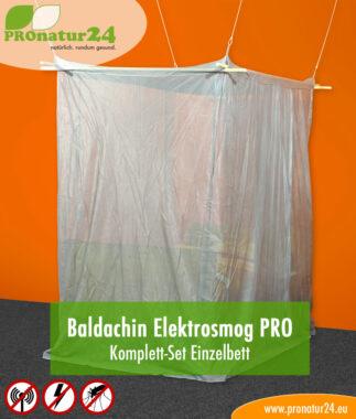 Baldachin Elektrosmog PRO, Set fürs Einzelbett