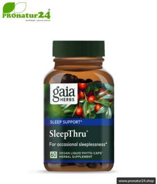 SLEEPTHRU von GAIA HERBS - 60 Kapseln