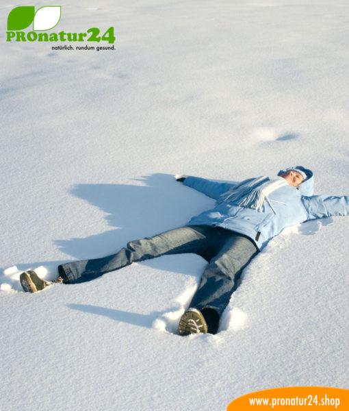 Ungetrübter Spass im Schnee