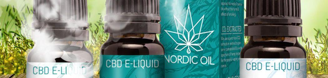 CBD E-Liquid von Nordic Oil aus Skandinavien. Gedacht für die E-Zigarette und E-Pfeife. Zudem geeignet für Nichtraucher da nikotinfrei.
