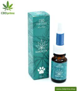 CBD Hanföl für HUNDE. Positive Wirkung für die Fellnase mit 4 % CBD Anteil. Ohne THC. Biologisch produziert von Nordic Oil.