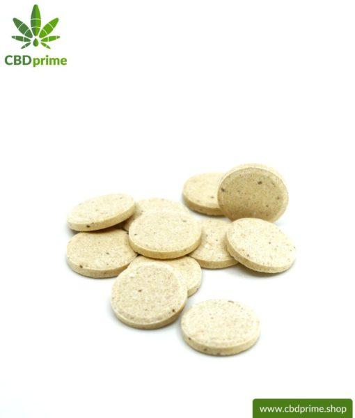 CBD LECKERLIES für Hunde. Futterergänzung in Form von Tabletten für die Fellnase. 176 mg CBD in 55 Pastillen. Ohne THC.