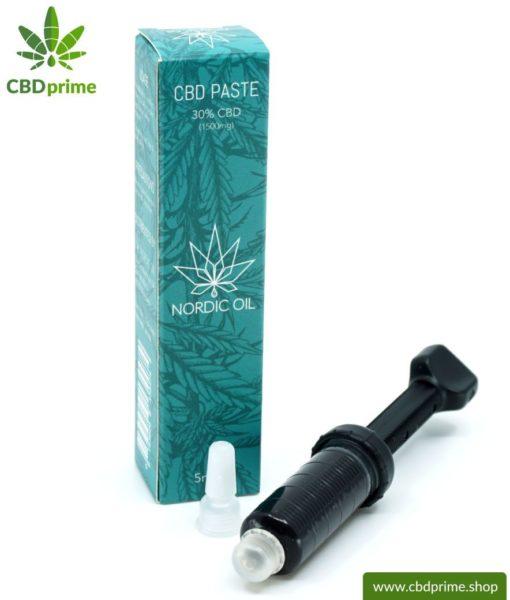 CBD Paste der Cannabis Pflanze mit 30 % CBD Anteil. Ohne THC.