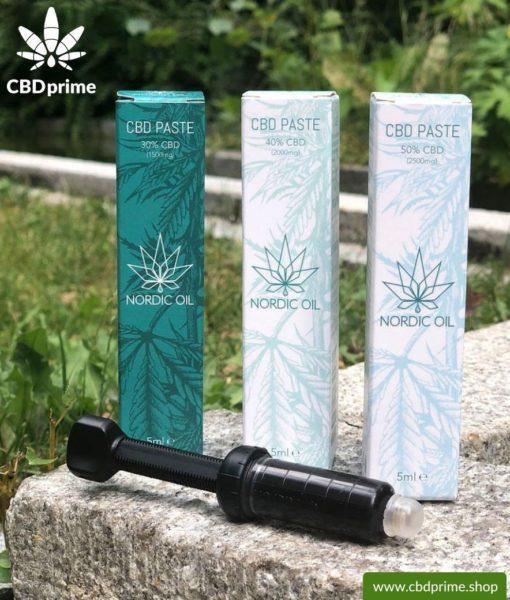 CBD Paste der Cannabis Pflanze mit 40 % CBD Anteil. Ohne THC.