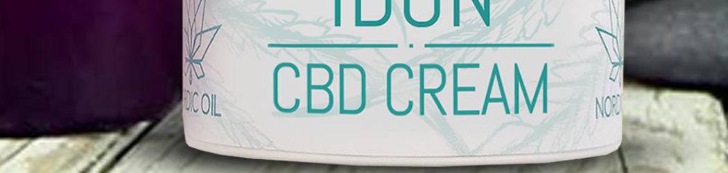 IDUN CBD Feuchtigkeitscreme. Hautcreme für eine optimale Hydratisierung mit der Kraft der Cannabis Pflanze. Ohne THC. Vegan.